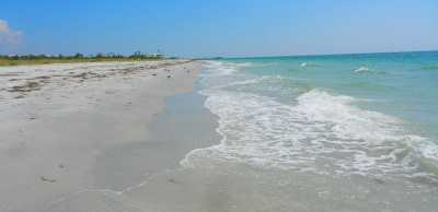 The beach at Boca Grande, a Gulf Coast Florida island.
