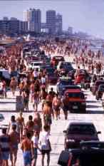 Spring Break in Daytona Beach, sometime between 1976 and 1996