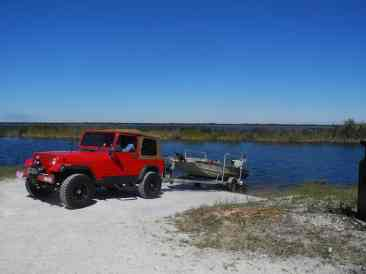 Boat launch at the Loxahatchee National Wildlife Refuge