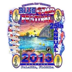 palatka blue crab festival logo