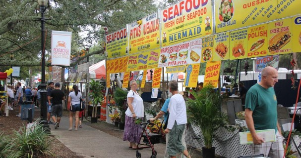 pensacola seafood festival