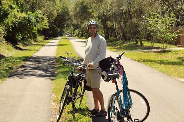 Pinellas Trail bike path