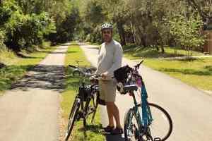 Pinellas Trail bike path