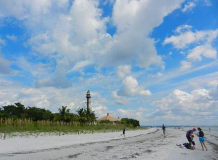 The lighthouse is a good reason to head to the eastern end of Sanibel, Florida.