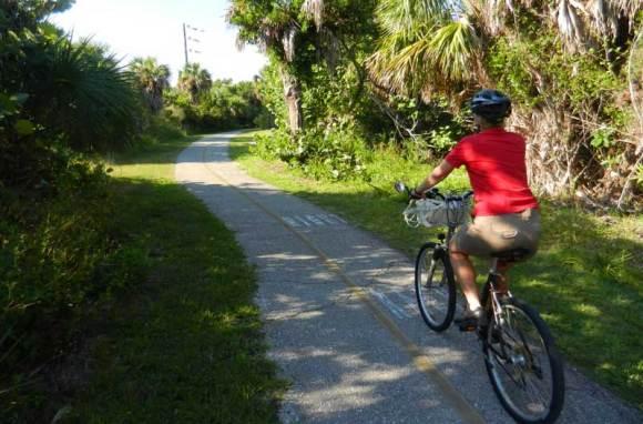 Sanibel bike trails are wide, smooth and well-marked.