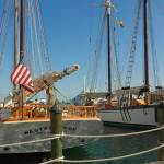 Florida's official flagship, the 1939 Schooner Western Union.