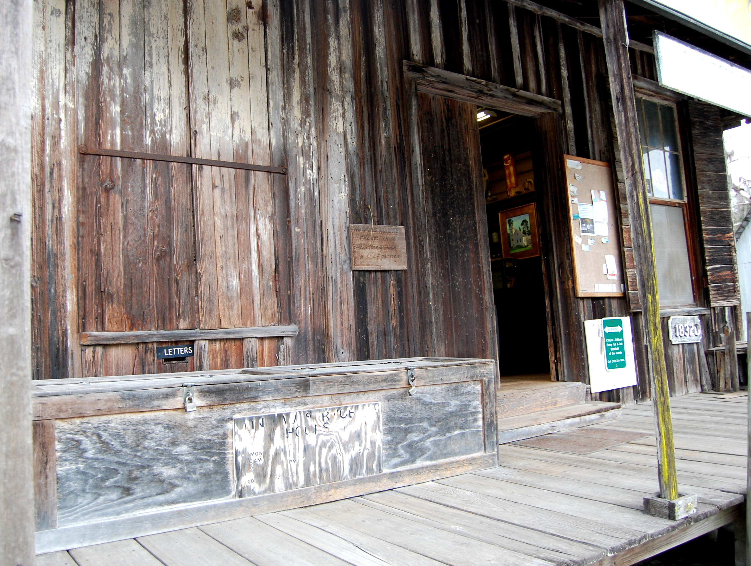Wood and Swink General Store and Post fice Evinston Florida