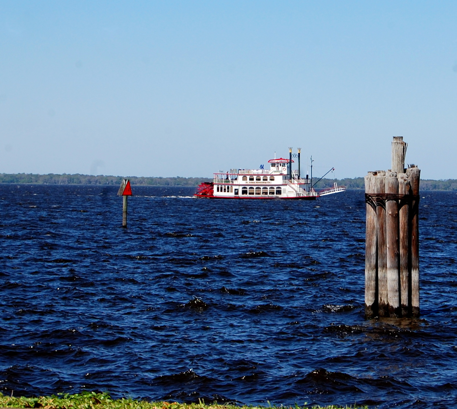 paddlewheelers and the st johns river