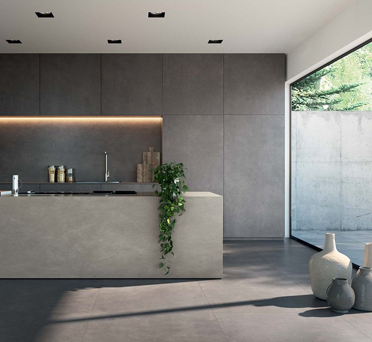 italian large format tiles and