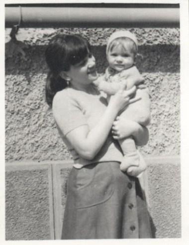 Florin Grozea si mama Cristina