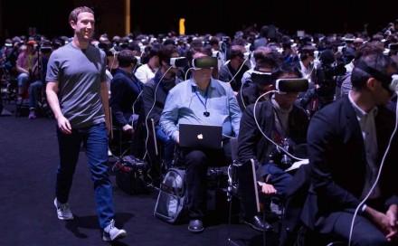 Mark Zuckerberg VR 2016