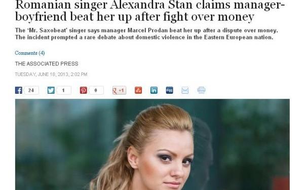 Washington Post Alexandra Stan