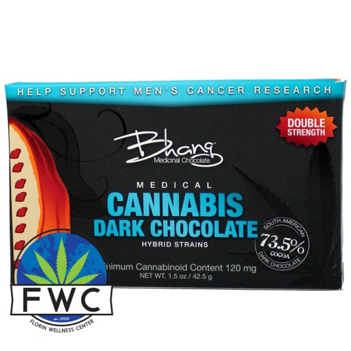 Bhang Dark Choc Double Strength