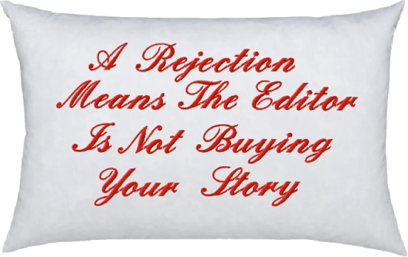 Rejection Pillow