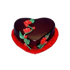 chocolate-heart-cake