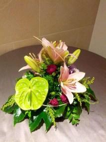 Sorprende a tu gente con unas flores en el centro de la mesa