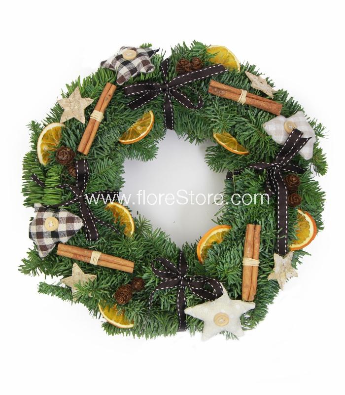 corona nordic decoracin de navidad coronas - Coronas Navidad
