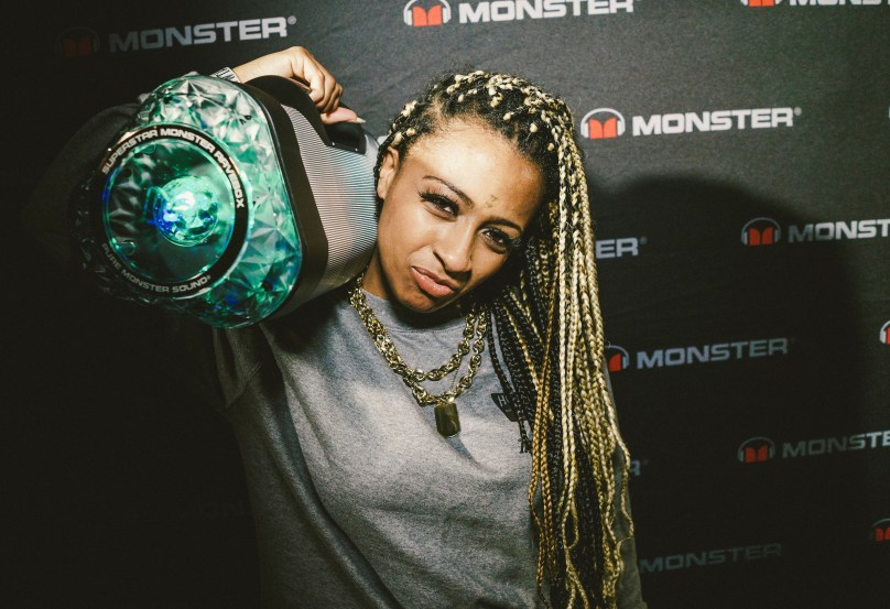 Shannell Stops By Monster Gifting Suite – SXSW Takeover