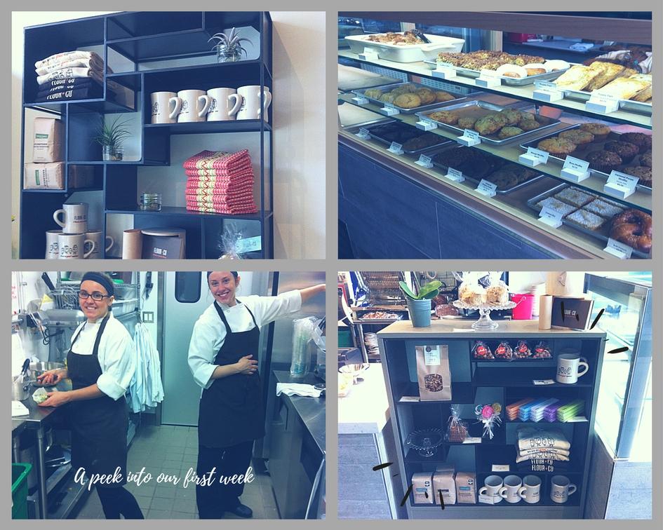 Flour & Co - bakery opening week