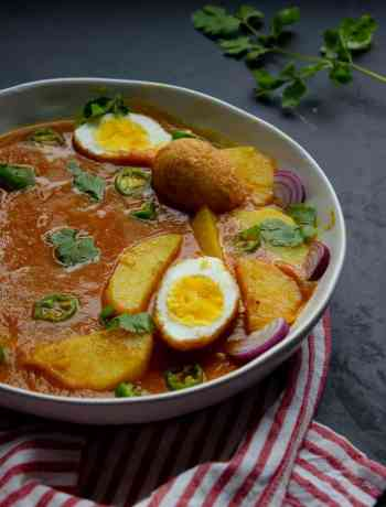 Bowl of Egg Curry
