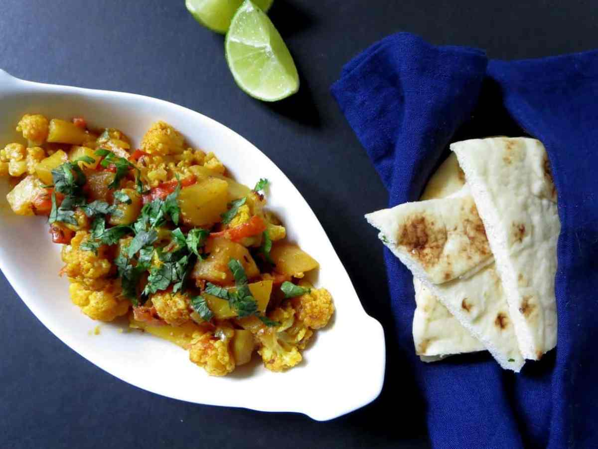 Aalu Gobi - Spicy Potato and Cauliflower Curry