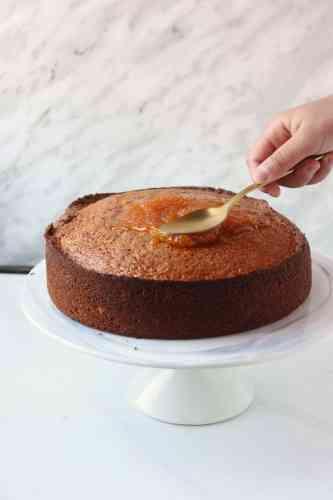 Orange Cake with Oil