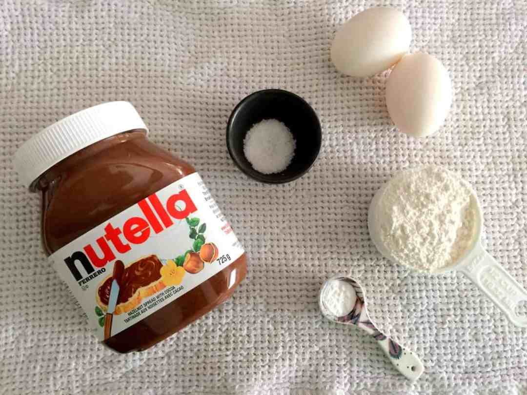 5-Ingredient NutellaBrownies