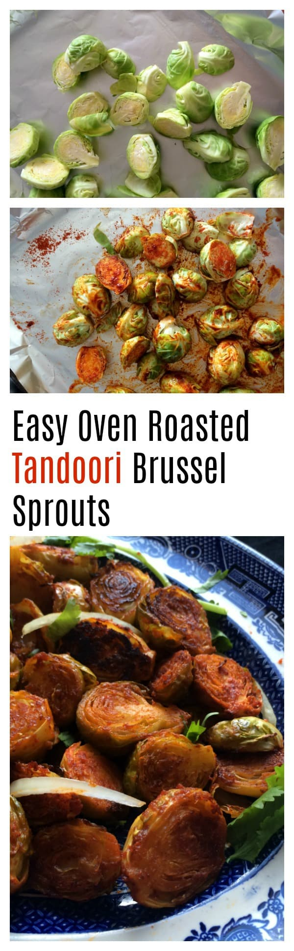 spicy roasted brussel sprouts