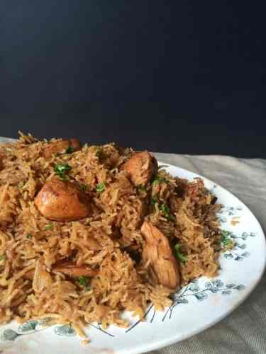 Chicken Pulao - Chicken Pilaf