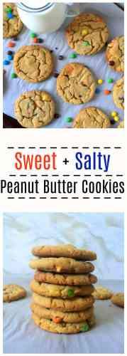 Sweet Salty Peanut Butter Cookies