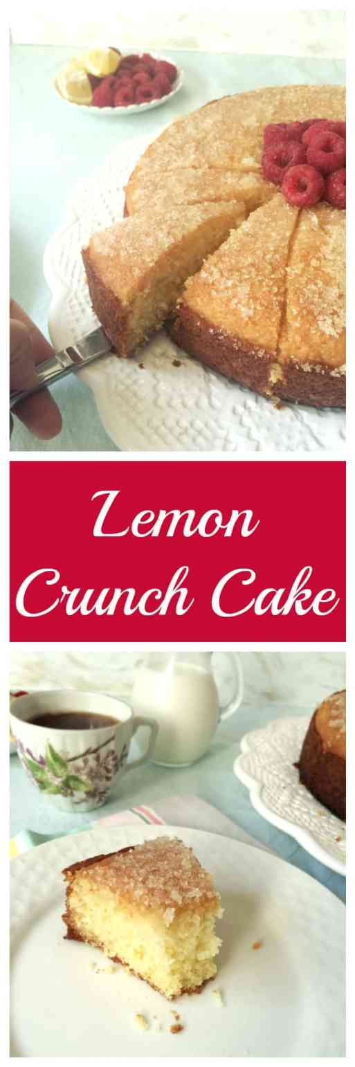 lemon crunch cake_