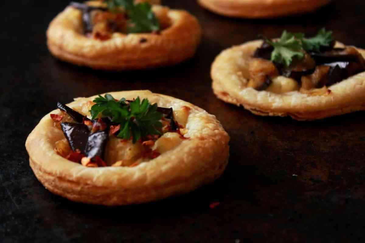 5-Ingredient Eggplant Tartlets