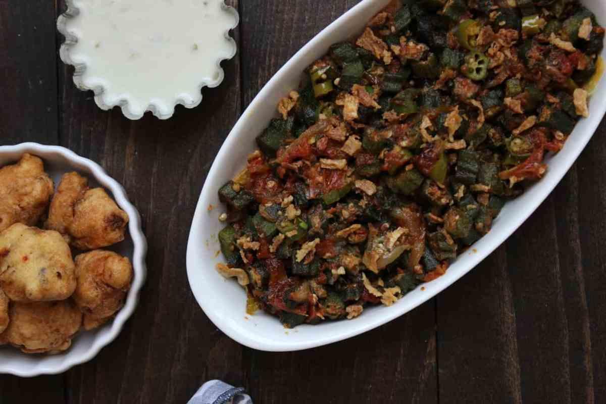 Bhindi Masala - a Pakistani Okra dish