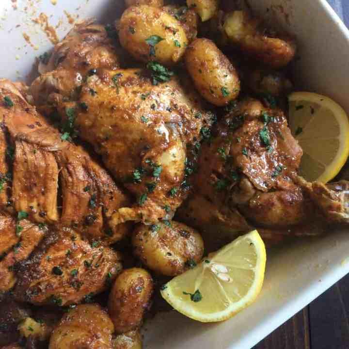 Instant Pot Tandoori Roast Chicken