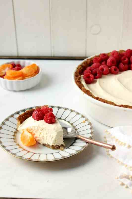 Orange Stevia Cheesecake Pie i