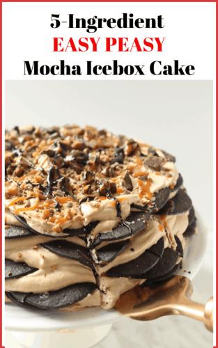 Mocha Icebox Cake