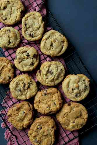 One Dozen Chocolate Chip Cookies