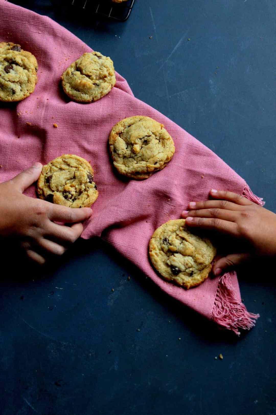 One Dozen Chocolate Chip Cookies