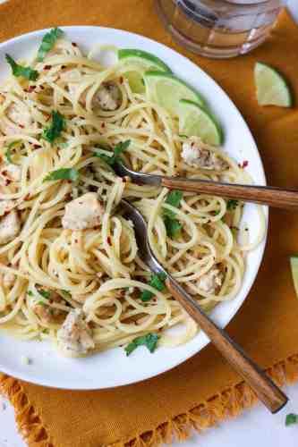 Cilantro Lime Chicken Pasta