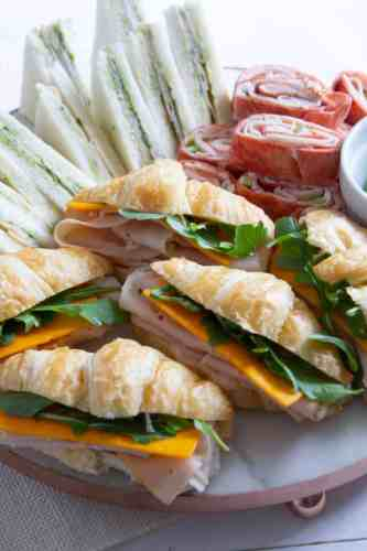 Turkey Sandwiches Three Ways