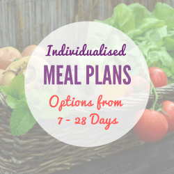 Personalised Meal Plans