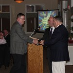 FF Tim Ernst gets his 15 year Life Active Award