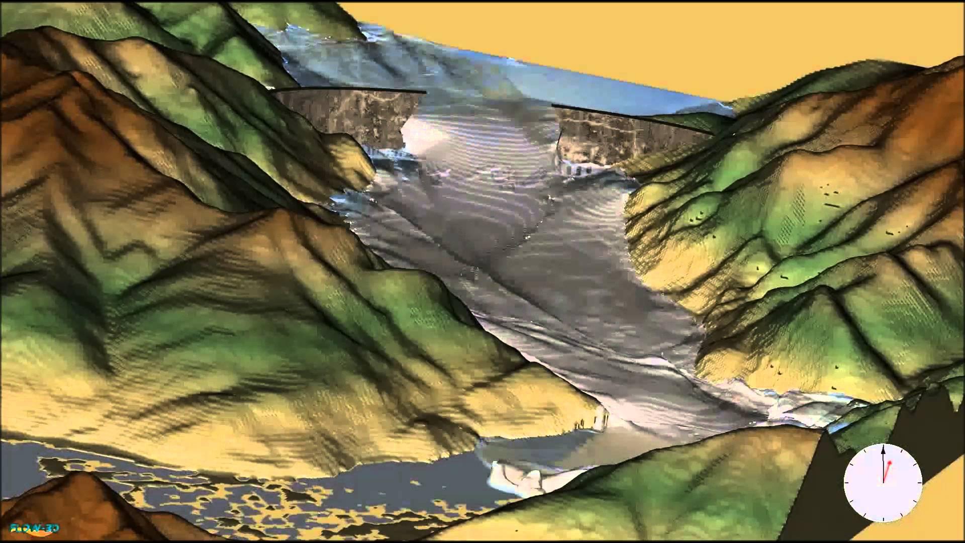 Water Amp Environmental Applications FLOW 3D 3D