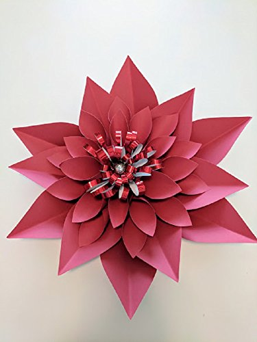 Christmas star paper flower 18diameter royal blue flower adventures christmas star paper flower mightylinksfo