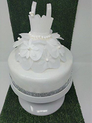 Princess flower dress cake topper edible rice paper 6 diameter princess flower dress cake topper edible rice paper mightylinksfo
