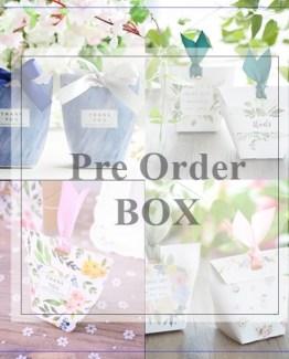 pre order items