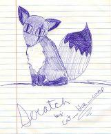 'Scratch' by Cat-Blue-Camp!