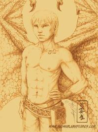 Pencil Sketch of Kira