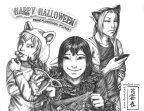 Pencil Sketch for Halloween