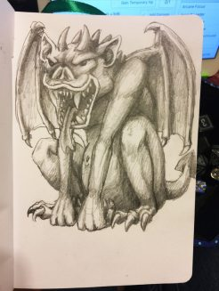 Gargoyle Thinks You're Tasty